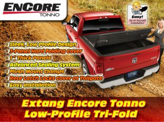Dodge Extang Encore Hard Tri Fold Tonneau Cover 09 12 Ram, 8 bed