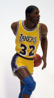 Danbury Mint Earvin Magic Johnson Of The Los Angeles Lakers Basketball