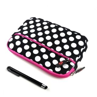 Ematic Mid 7 Google Android Tablet Polka Dots Case Cover Sleeve w