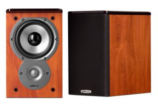 AUDIO TSI 100 HOME THEATER BOOKSHELF SPEAKERS TSI100 STEREO PAIR BLACK