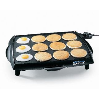 07046 Tilt N Drain Big Griddle Cool Touch Electric Griddle