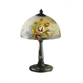 House Beautiful Marketplace Dale Tiffany Rose Dome Table Lamp