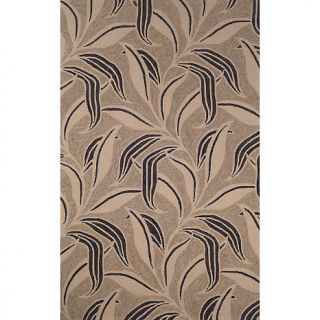 108 2771 trans ocean liora manne ravella leaf rug neutral 8 rd rating