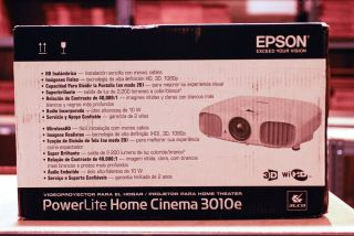 EH TW6000W Epson 3010E LCD Home Theater Projector 1080p HDMI Wireless