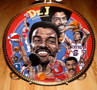 JULIUS DR. J ERVING Philadelphia 76ers NBA Basketball Sports