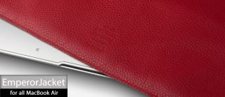 Ion Emperor Jacet Leather Case for New Apple MacBook Air 13 inch 2011