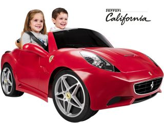 Feber Ferrari California 12v Car Kid Ride On Power Wheel Toy battery