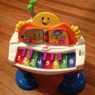 Fisher Price Baby Grand Piano Works Great