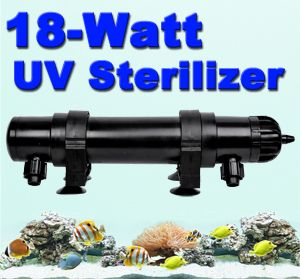 UV Light Lamp Sterilizer Filter Aquarium Clarifier Pond Fish Bulb Tube