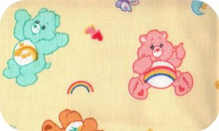 Personalized Baby Name Care Bears Feeding Burp Cloth Plush Bear Gift
