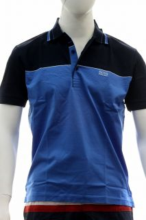 Hugo Boss Mens Modern Fit Paddy Polo Navy Blue Shirt 50198254