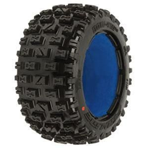 Pro Line Bowtie Rear Tire Set w Foam for Baja 5B SS