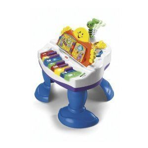 Fisher Price J9163 Interactive Baby Grand Piano