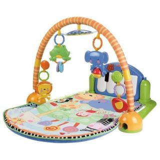 Fisher Price Discover N Grow Kick Play Piano Muscial Gym W2621