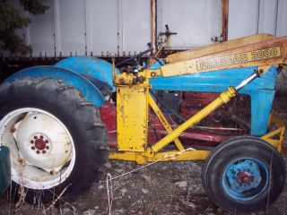 Original 1953 Jubilee Ford Tractor with Loader