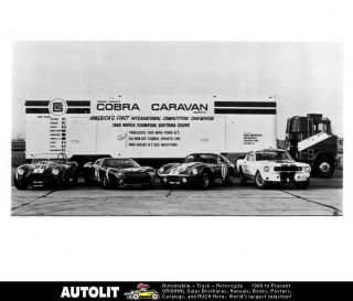 1966 Ford Shelby Cobra Caravan Factory Photo
