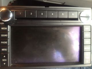 Ford 2008 Mustang Factory Navigation Radio