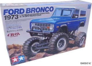 Tamiya 58436 CR01 Ford Bronco 1973 Truck 1 10 CR 01