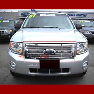 Billet Grille 2010 Ford Escape Front Grill Insert Aluminum Logo Show