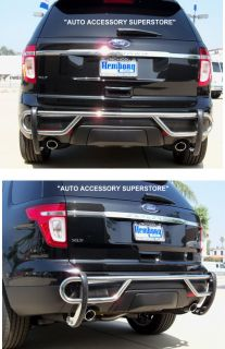 2011 UP FORD EXPLORER REAR BUMPER GUARD LIFETIME WARRANTY QUICK EASY