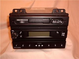 Ford Fusion Fiesta 3500 RDS E O N Radio Cassette w Code Free