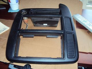 2001 2002 Ford Windstar Radio Climate Controls Bezel Black M622