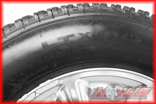 20 Ford F250 F350 Suderduty FX4 Polished King Ranch Wheels Tires 18 E