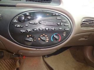 Audio Visual Equip Radio Ford Taurus Sedan 1998