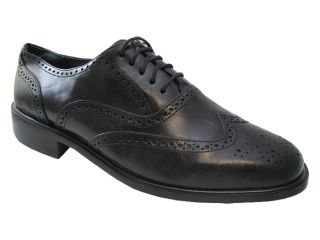 NWD Florsheim Mens 11074 Black Oxford Shoes US Left 9 Eee Right 8 5