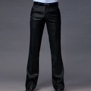 Casual Mens Slim Fit Suit Formal Classic Pants Trousers X05B