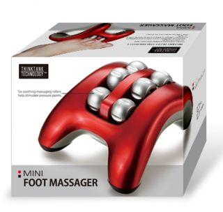 Foot Massager With Six Soothing Massaging Rollers Feet Massage Machine