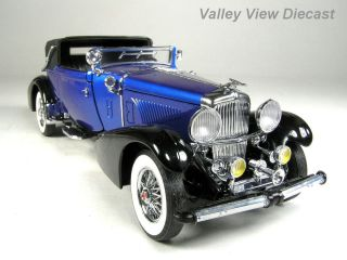 FRANKLIN MINT 1933 DUESENBERG J CONVERTIBLE VICTORIA MINT CONDITION IN