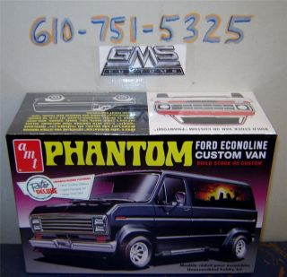 AMT 767 FORD ECONOLINE CUSTOM VAN FS GMS CUSTOMS REDUCED  1