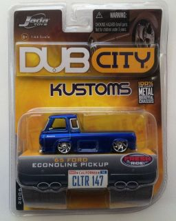 DUB CITY KUSTOMS 65 FORD ECONOLINE PICKUP FRESH SERIES 164 SCALE