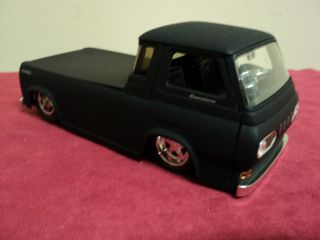 Jada 1965 Ford Econoline Pickup 1 24 Scale No Longer Made Flat Black