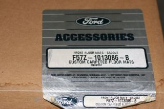 Ford Ranger OEM Floor Mats Saddle Tan 93 94 95 99 00 01 2002