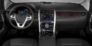 Ford Edge SE Sel Limited Interior Burl Wood Dash Trim Kit 2011 2012