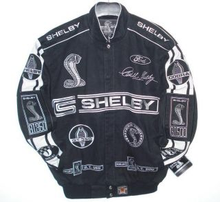 AUTHENTIC FORD MUSTANG Shelby Cobra Racing EMBROIDERED Jacket NEW M