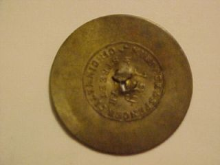 VERY RARE W.C. FITHIAN, PAINTER, CINCINNATI (OHIO) CIVIL WAR TOKEN