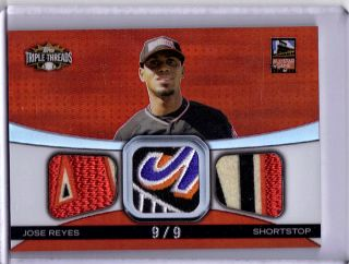 380 Huge Topps Triple Threads Game Used Jersey Bat Patch Booklet Lot
