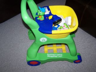 Leap Frog Pretend & Learn Shopping Cart + Food~COMPLETE