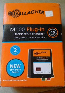 Gallagher M100 Electric Fence Energizer