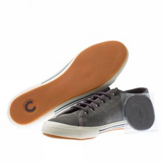 Fred Perry Vintage Tennis Suede 8 UK Grey Trainers Shoes Mens New