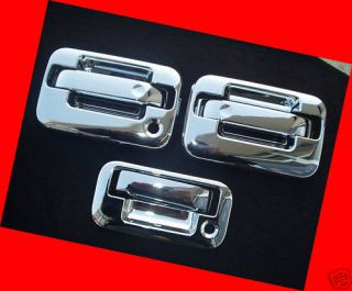 Ford F150 Chrome Door Handle Tailgate Covers 04 13