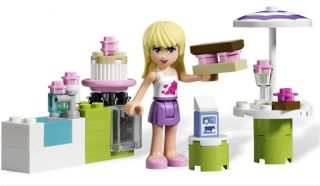 LEGO Friends 3930 Stephanies Outdoor Bakery Set (NO BOX) NEW