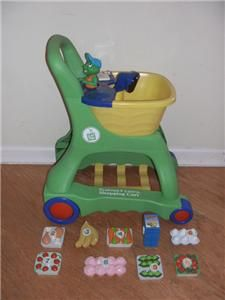 Leap Frog Pretend and Learn Shopping Cart with Scanner & Food