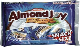 Bag ALMOND JOY Milk Chocolate & Coconut FUN SIZE Candy