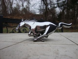 2001 Ford Mustang horse emblem original from car front grill
