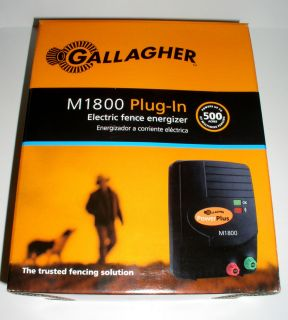 Gallagher M1800 Plug In 110 volt Engergizer Electric Fence Charger 42
