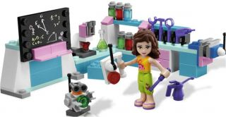 Lego Friends 3933 Olivias Invention Workshop New in Box
